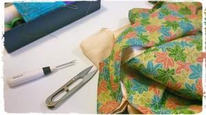 Kimono Stoff